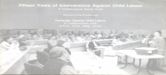 Fifteen Years of Interventions against Child Labou